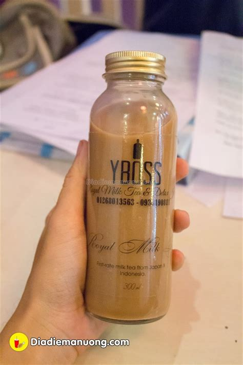 Royal Tea Detox by địa điểm Yboss Royal Milk Tea Detox Juice