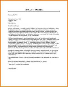 10 financial analyst cover letter examples financial