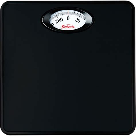 dial bathroom scale sunbeam rotating dial bathroom scale black walmart com