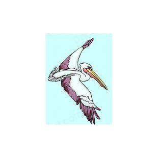 pelican boat stickers pelican flying birds decals decal sticker 5868
