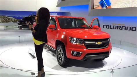 2015 Chevy Colorado Diesel 2015 chevy colorado diesel revealed los angeles auto show