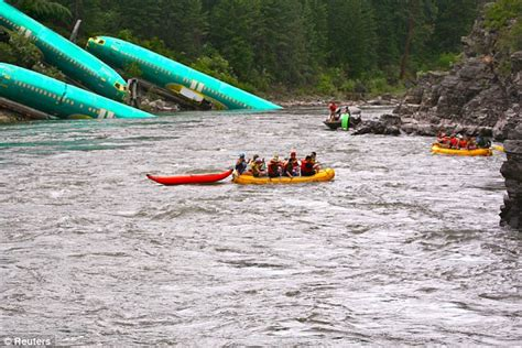 boat crash georges river train carrying boeing 737 parts derails sending plane