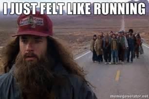 Run Forrest Run Meme - i just felt like running forrest gump beard meme generator
