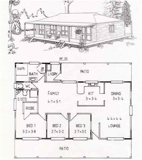 australian steel frame housing floor plan rf 25