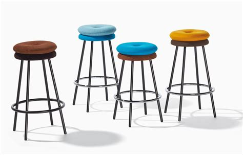 Padded Stool by Padded Chairs Stools And Footstools By Richard Lert