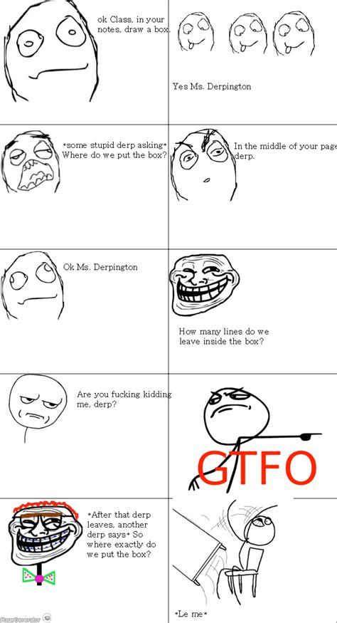 Rage Memes - the gallery for gt rage comics high school