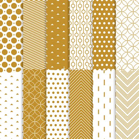 Pattern Gold Download | 139 golden seamless patterns free psd png vector eps