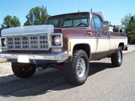1978 chevy 3 4 ton 4x4 truck 1978 chevy 3 4 ton gmc k20 4x4 truck 99 9 rust free 1