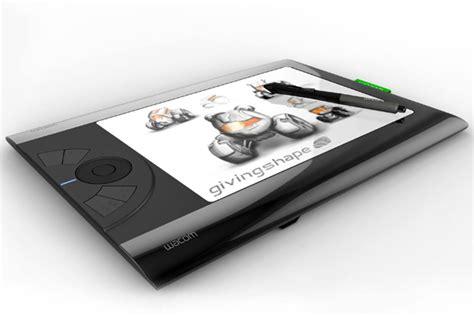 designer pad a wacom wet dream yanko design