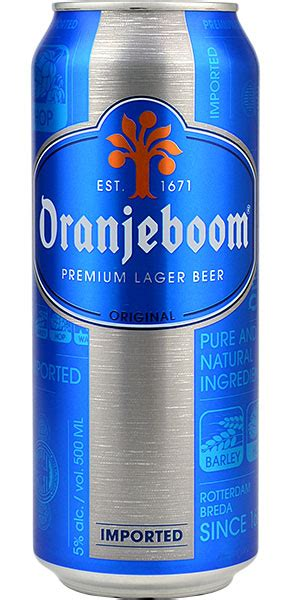 oranjeboom premium lager pk ml  drinksdirectcouk