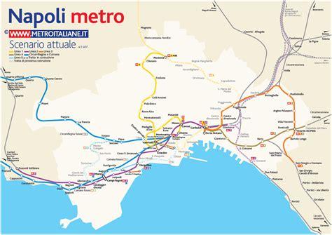 Metro map of Naples. Metro maps of Italy. ? Planetolog.com