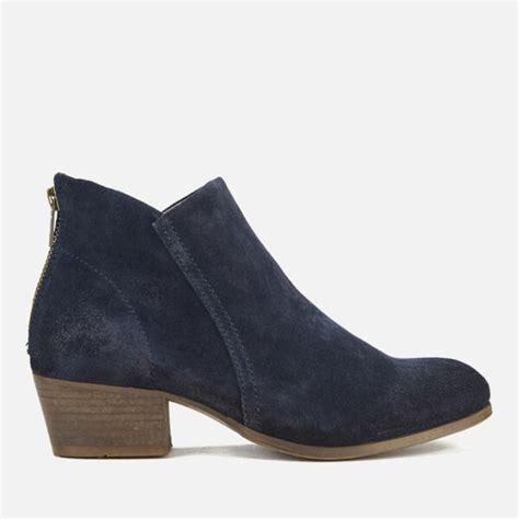 hudson s apisi suede heeled ankle boots