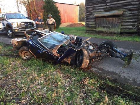 corvette crashes corvette c3 crash pictures