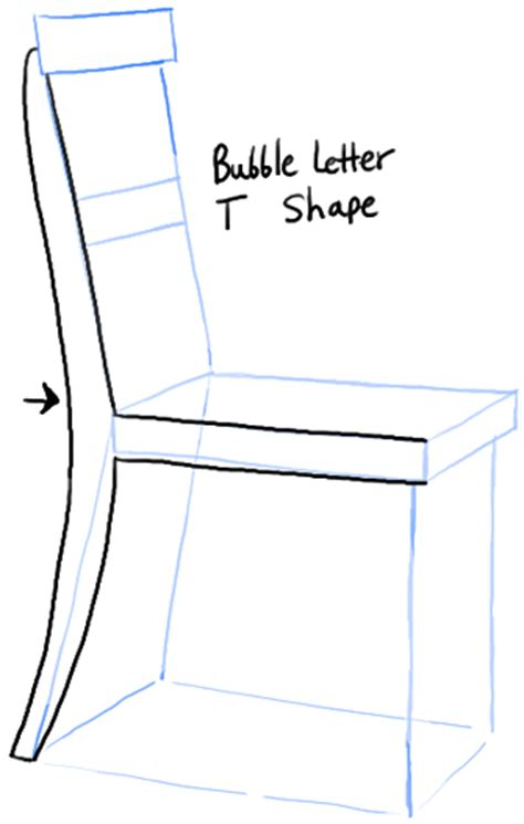 how to draw a recliner chair step by step how to draw a chair in the correct perspective with easy