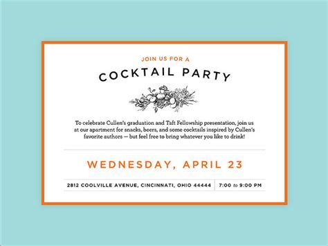 55  Party Invitation Designs & Examples   PSD, AI, EPS