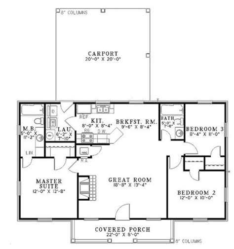 1100 Square House Plans by 1100 Sq Ft House Plans 3 Bedroom 700 Square Foot House