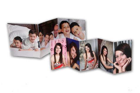 accordion photo cards templates new orleans metairie business accordion cards