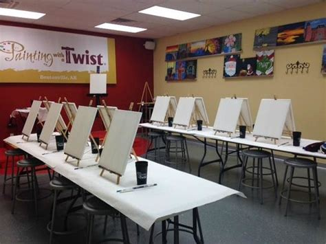 paint with a twist bentonville photos of painting with a twist bentonville attraction