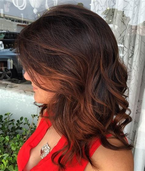 how to highlight dark brown hair by yourself 35 gorgeous highlights for brightening up dark brown hair