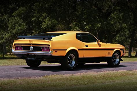 ford mustang style history ford mustang history 1971 shnack