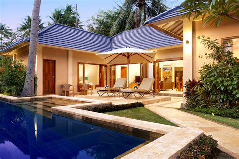 One Bedroom Villa With Pool Bali by Bali Luxury Accommodation The Lovina Bali Resort Villas