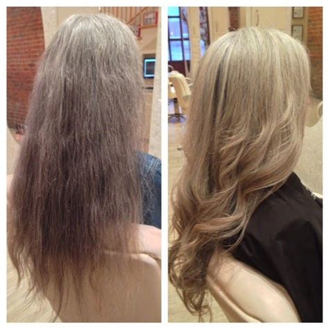 camouflaging gray hair with highlights gray hair blonde highlights jpg highlights pinterest