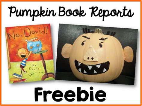 Pumpkin Book Report Template by Pumpkin Book Report Freebie Simply Kinder