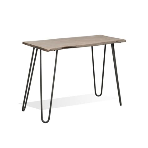 live edge side table freddie live edge side table industrial chic style