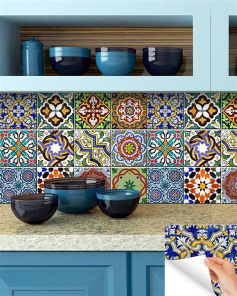 kitchen decals tile stickers vinyl wall sticker bathroom