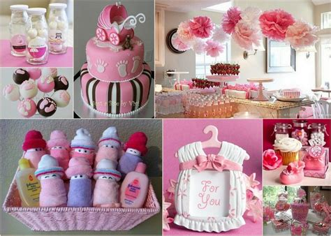 themes girl baby shower design a baby girl shower with pink color theme here is