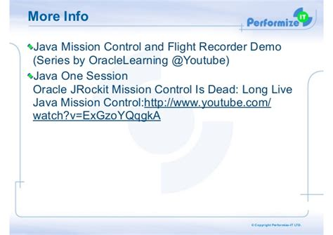 tutorial java mission control a short intro to java mission control