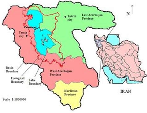 middle east map lake urmia urmia lake the need for water diplomacy aquapedia
