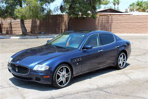 blue maserati 4 door 2006 maserati quattroporte 4 door sedan 197253