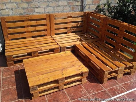 wood pallet couches pallet corner sofa with table pallet wood projects