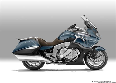k1600gtl bagger by nicolas petit is a bmw