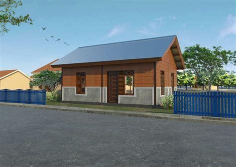 desain rumah semi permanen desain rumah semi permanen modern gambar c
