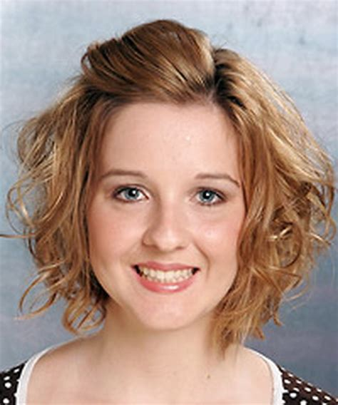 pictures of soft wave perms for short hair permed hairstyles short hair