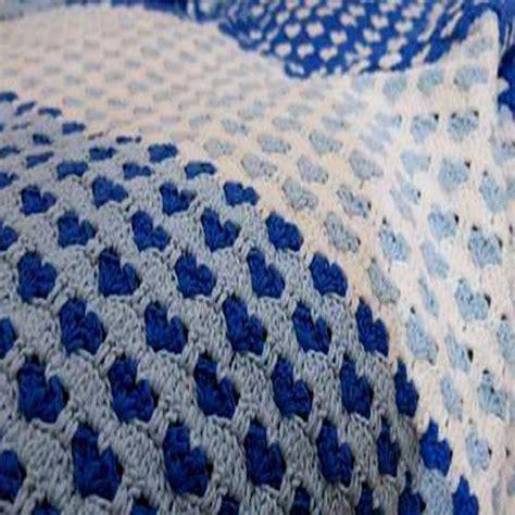 heart pattern crochet blanket heart crochet stitch bedspread crochet kingdom