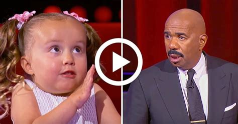 woman on steve harvey show with extensions tiny girl gives steve harvey lesson in anatomy has