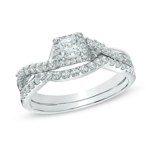 pictures on zales princess cut engagement rings