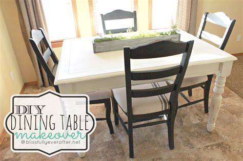 Dining Table Makeover Diy Dining Table Bukit