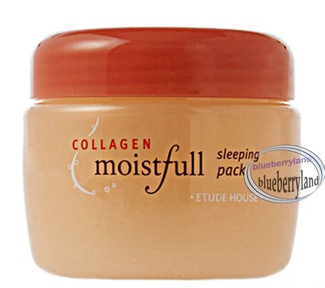 Moistfull Collagen Sleeping Pack Etude House Murah Meriah etude house collagen moistfull sleeping pack concentrate 100ml