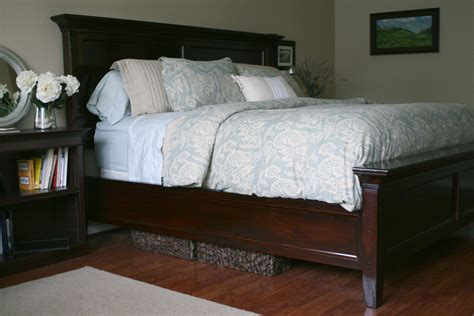 In Bed by White Modified Farmhouse Bed Diy Projects