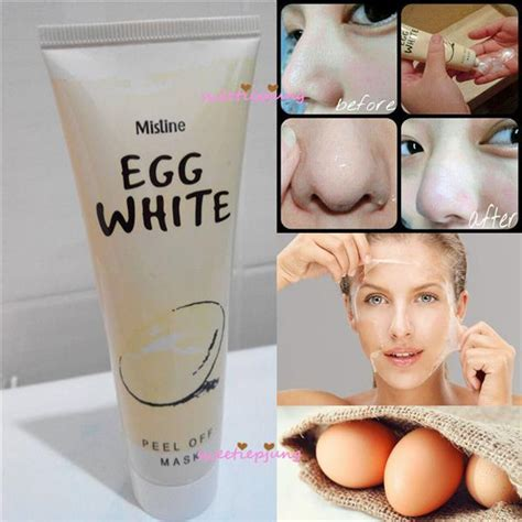 Hanasui Egg White Peel Mask Hanasui Eggwhite mistine egg white peel mask end 5 15 2018 12 15 pm