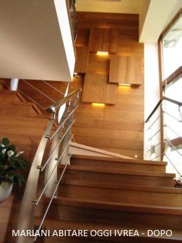 eclairage escalier led 2164 r 201 alisation d escalier interne mobili mariani