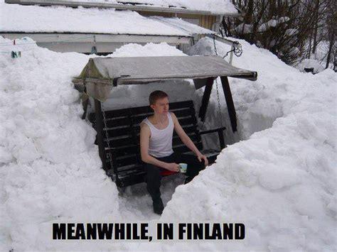Finnish Meme - finnish winter no problem alternative finland