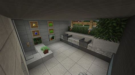 Modern The Sun Residence Luxury Villa Minecraft Project Minecraft Modern Bathroom