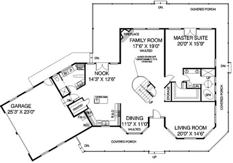 Country Style House Plan 3 Beds 3 Baths 3000 Sq Ft Plan 3000 Square Foot Country House Plans