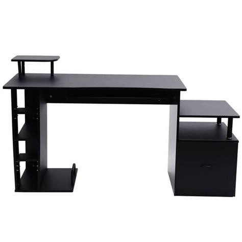 Multi Level Computer Desk Convenience Boutique Multi Level Home Office Computer Desk Black