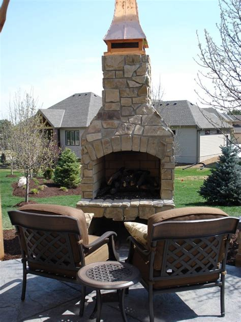 Age Outdoor Fireplace by 112 Best Images About Fireplaces On Outdoor